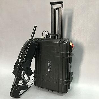 Trolley-Box Typ Drohne Defender mit Richt Antenne