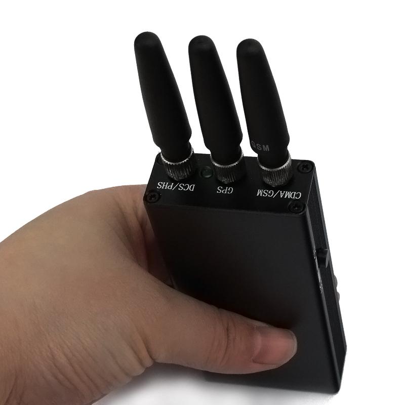tragbarer handy st rsender kaufen handheld jammer. Black Bedroom Furniture Sets. Home Design Ideas